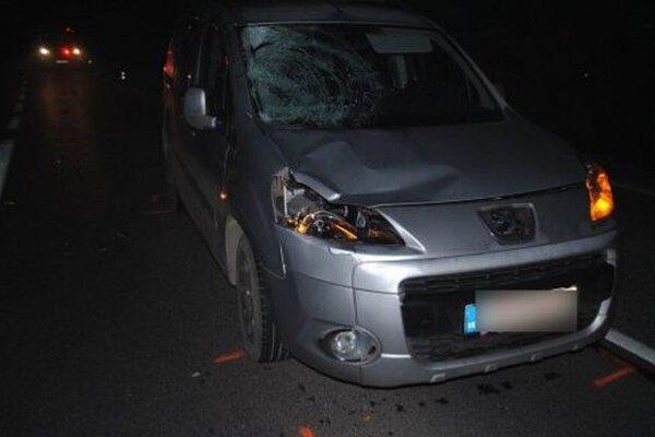 Škoda na vozidle je odhadnutá na cca 2-tisíc eur.