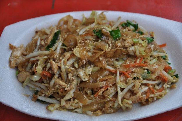 Pad Thai ako streetfood