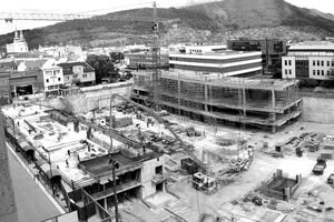 Aupark postavili na Štúrovom námestí. O neplatnosť jeho predaja sa súdilo predchádzajúce vedenie mesta s investorom.