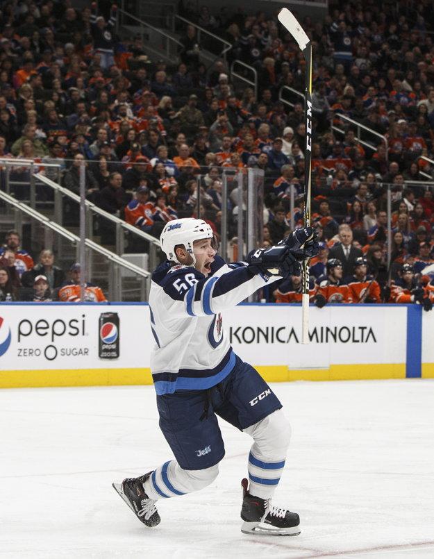 Marko Daňo je vo Winnipegu spokojný.