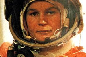 Valentína Tereškovová - prvý let ženy do vesmíru.