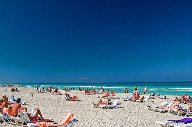 Pláž vo Varadero.