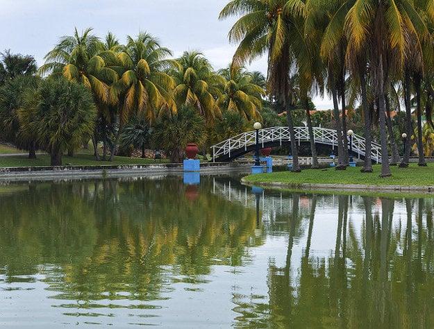 Parque Josone v centre Varadero.