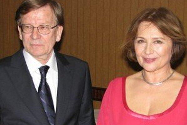 Milan Čorba a Emília Vašáryová, prví hostia novej divadelnej talkshow.