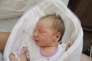 Nina Blahová (3560g, 52cm) sa narodila 1. júna Radke a Michalovi z Púchova. Doma na Ninku čaká štvorročná Natálka.