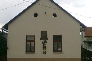 Rodný dom Pavla Dobšinského.