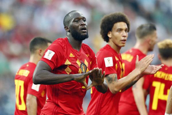 Romelu Lukaku dal dva góly Belgicka.