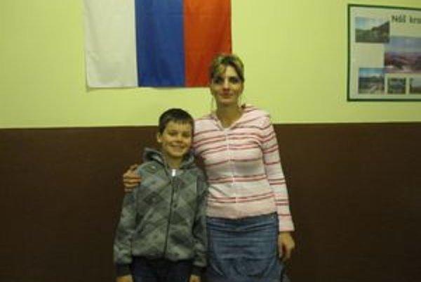 Martinko Sagan s mamou.