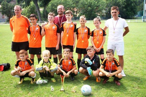ŠK Hájske U11, víťazi finálového turnaja Miniligy M. Stocha.