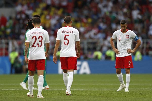 Futbalisti Poľska, ilustračná snímka.