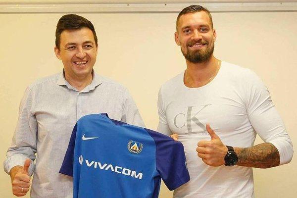 Brankár Martin Polaček bude v kariére pokračovať v bulharskom klube Levski Sofia.