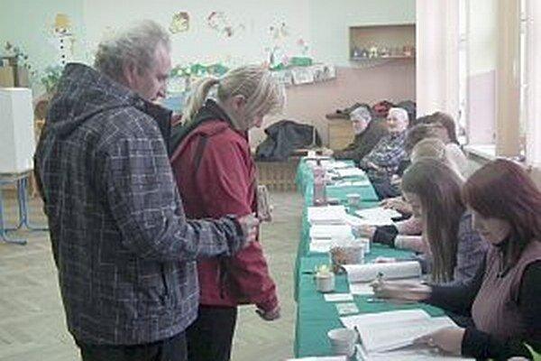 Voľby v Prečíne