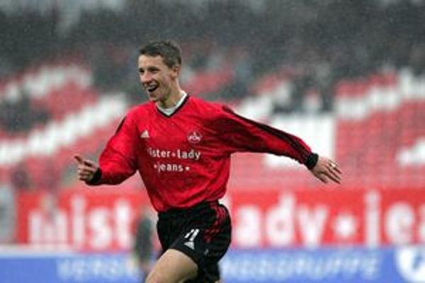 Marek Mintál v drese 1. FC Norimberg.