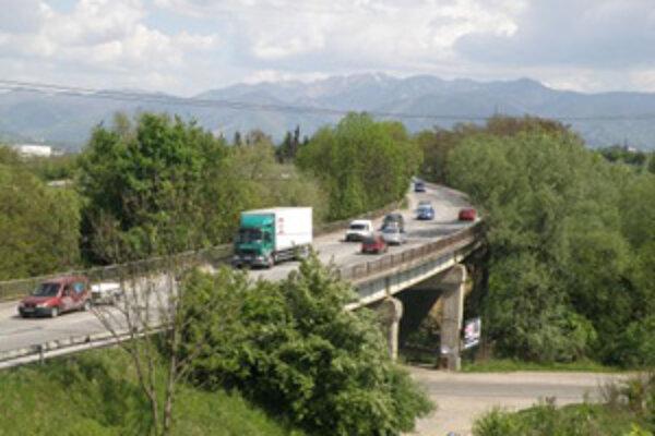 Most pri Celulózke. Opravovať by ho mali začať už čoskoro. Vodiči sa môžu pripraviť na kolóny.