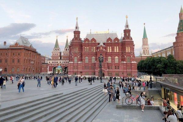 Moskva žije majstrovstvami vo futbale.