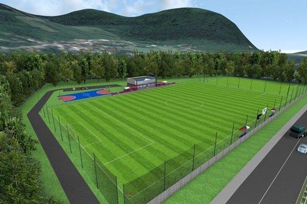 Takto by mohol vyzerať futbalový areál v Brodne.
