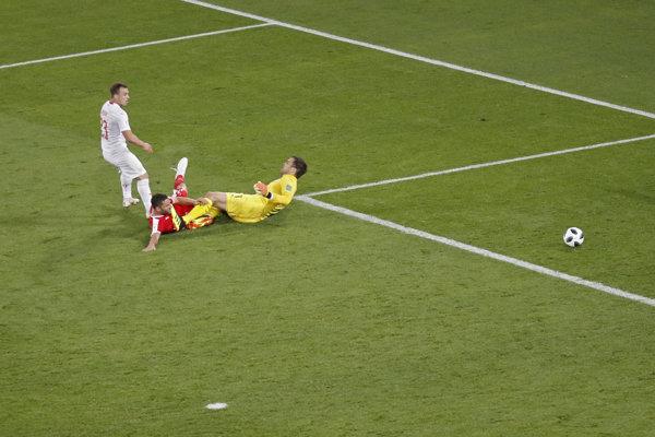 Švajčiari otočili zápas proti Srbsku.