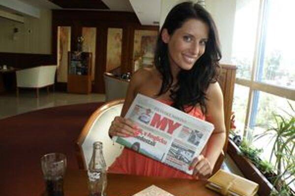 Barbora Franeková sa pripravuje na Miss World. Okrem toho študuje právo a pracuje v rodinnej firme.