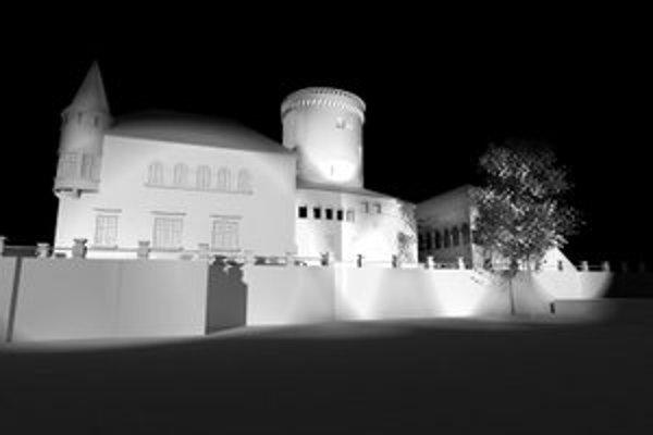 Vizualizácia osvetlenia, ktoré má byť oficiálne spustené v novembri.
