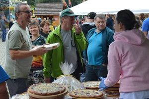 Na gastrofestivale ponúkali rôzne dobroty.