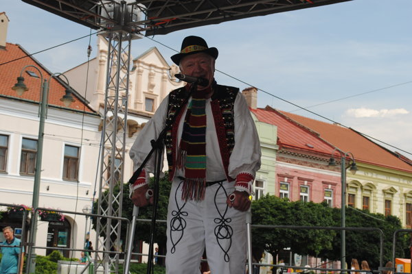 Ján Očkovič opäť sršal dobrou náladou.