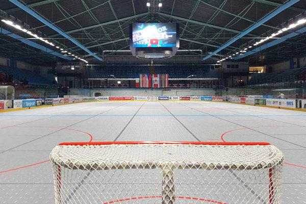 Hrať sa bude v Nitra Aréne na dvoch plochách - hlavnej aj vedľajšej.