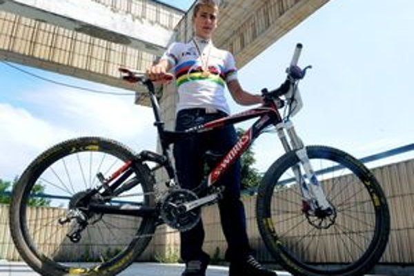 Devätnásťročný slovenský cyklistický talent Peter Sagan.