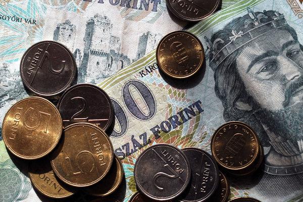 Maďarský forint.