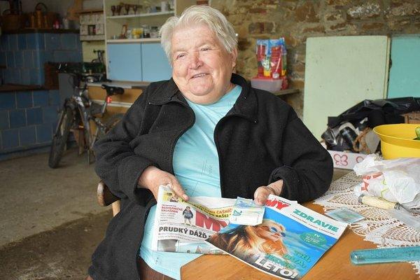Aj napriek veľkej rane osudu je pani Anna optimistický a veselý človek. Výhra ju veľmi potešila.