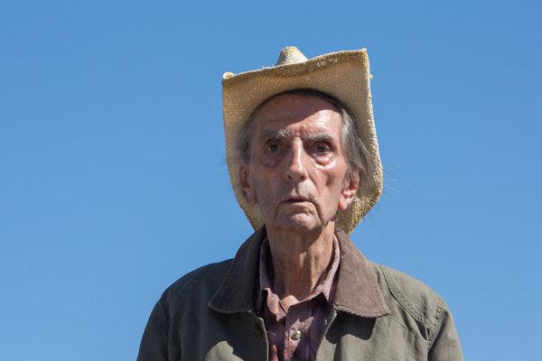 Harry Dean Stanton vo filme Lucky.