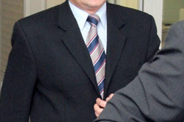 Jozef Pohančeník počas pojednávania Špeciálneho súdu v Pezinku.