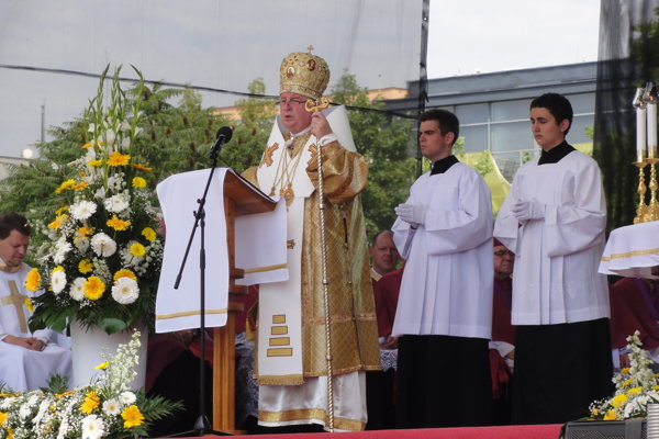 Hlavným celebrantom sv. omše bol Mons. Ján Babjak, prešovský arcibiskup a metropolita sui iuris.