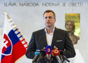Predseda Národnej rady Andrej Danko.
