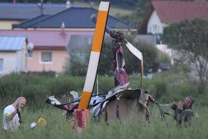 Marián Troliga zahynul pri páde vrtuľníka, ktorý sám pilotoval.