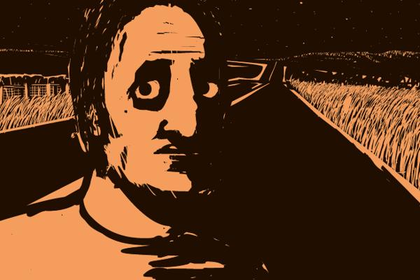 Obálka komiksu Zóna, jeho dizajn navrhol Boris Meluš.