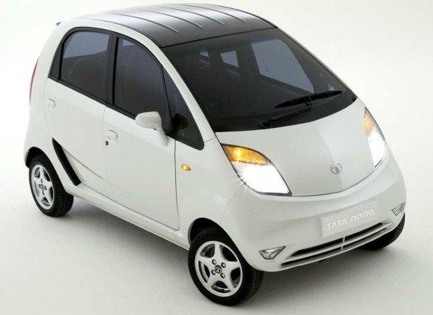 Tata Nano ako predprodukčný koncept z roku 2007