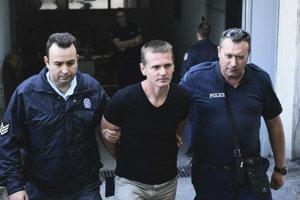 Alexander Vinnik v rukách gréckej polície.