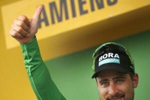 Peter Sagan si udržal zelený dres aj po 8. etape na Tour de France 2018.