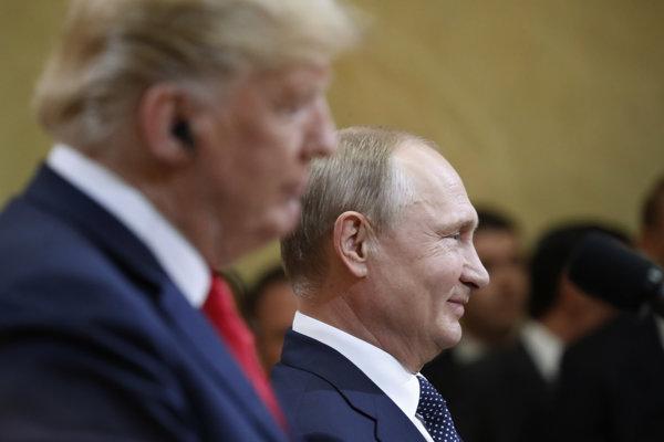 Tlačová konferencia oboch lídrov.