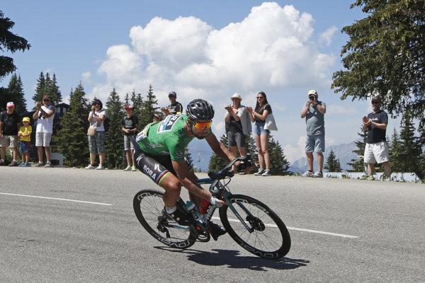 Peter Sagan počas Tour de France 2018.