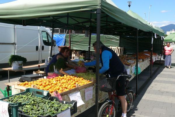 Peter Hurta chodí na tržnicu pravidelne a takmer vždy niečo kúpi. Pred pár dňami dostal chuť na zelenú fazuľku.