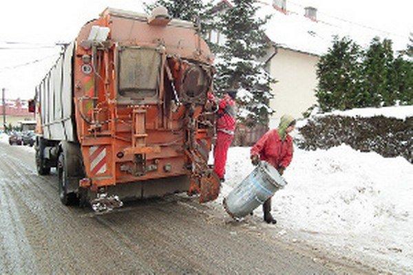 Technické služby vlani odviezli z Klina o takmer 60 ton komunálneho odpadu menej ako rok predtým.