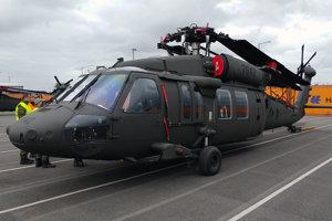 Vrtuľník  UH-60M Black Hawk.
