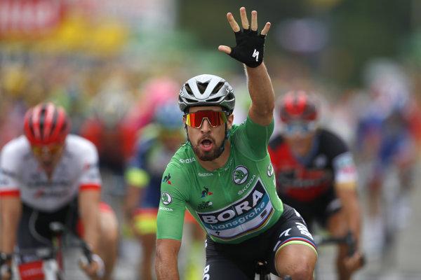 Peter Sagan ovládol 13. etapu na Tour de France 2018.
