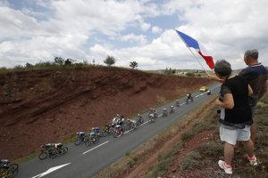 Z 15. etapy Tour de France.