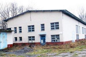 Budova bývalej čistiarne odpadových vôd.