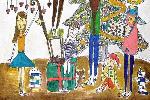 Ilustračná kresba