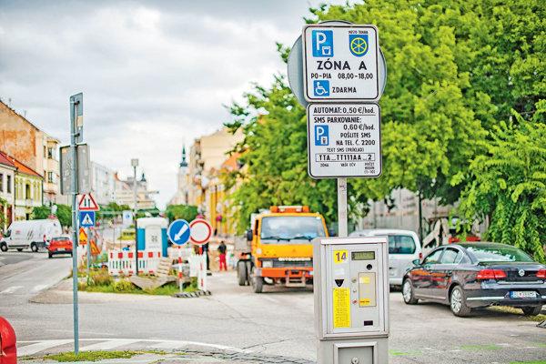 Parkovací systém si mesto riadi samo.