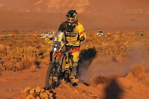 Oravský motocyklista sa už posunul na druhú priečku celkovej klasifikácie.