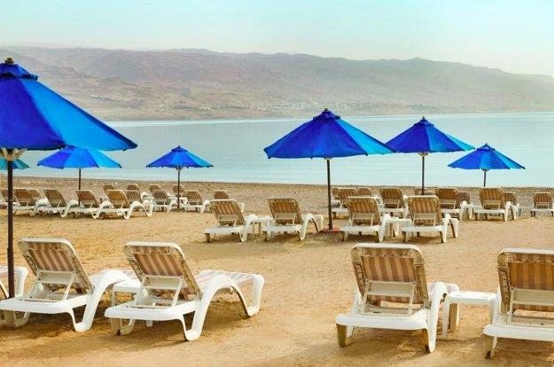 Mŕtve more patrí medzi najvychytenejšie lokality Jordánska